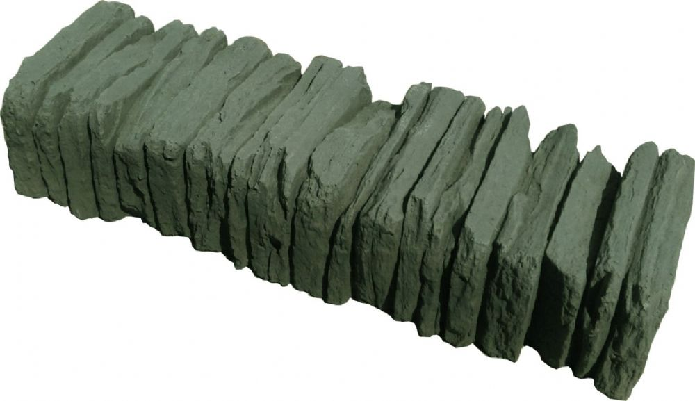 Slate Effect coping Stones Antique Green/Grey
